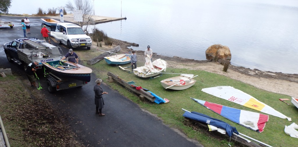 On Presentation Day, a team of volunteers worked on the club and it's boats