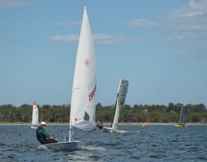 Goete leads the fleet