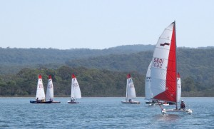 The regatta provided fun and spectacular racing
