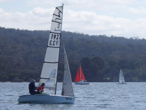 "Josh and Yarrah Dorrough won both races on their NS14 ""Yikes!"""