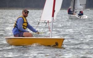 Brenton sails the club Spiral
